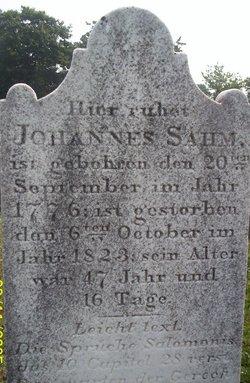 Johannes Sahm
