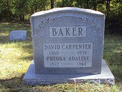 Phoebe Adaline <I>Satterfield</I> Baker