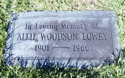 Allie Woodson <I>Armstrong</I> Lowry