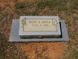 Ruth M <I>Woodward</I> Doyle