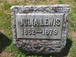 Julia <I>McCawley</I> Lewis