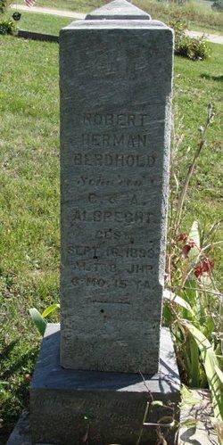 Robert Herman Berhold Albrecht
