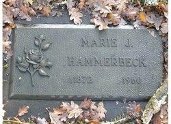 Marie J <I>Eriksson</I> Hammerbeck