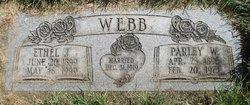 Parley William Webb