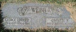 Janette <I>Park</I> Webb