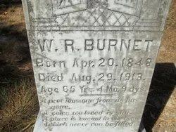 """W R """"Rich"""" Burnett"""