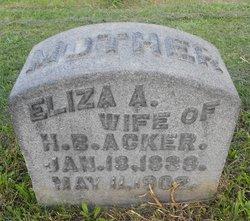 Eliza Amanda <I>Hiskey</I> Acker