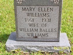 Mary Ellen <I>Nichols</I> Williams