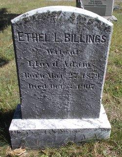 Ethel L <I>Billings</I> Adams