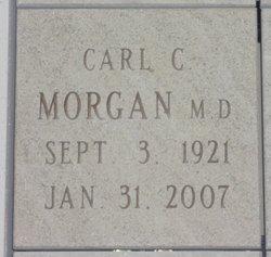Dr Carl C Morgan, M.D.