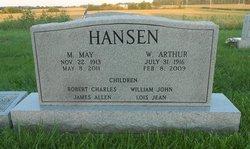 Margaret May <I>Lutz</I> Hansen