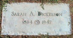 Sarah A Dickerson