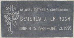 Beverly Jean <I>Vinson</I> La Rosa