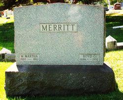 M. Martha <I>Sparks</I> Merritt