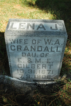Lena J <I>Gilbert</I> Crandall
