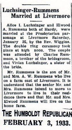 Alice Iva <I>Luchsinger</I> Rummens