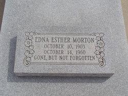 Edna Esther Morton