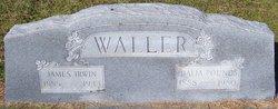 """Fanniel Idalia """"Fannie"""" <I>Pounds</I> Waller"""
