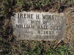 Irene H <I>Winston</I> Crew