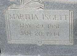 Martha <I>Isgett</I> Kissiah