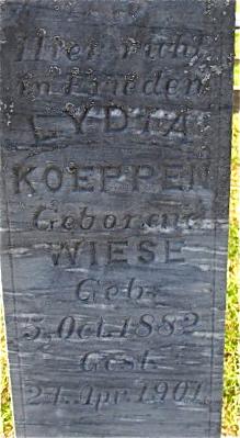 Lydia <I>Wiese</I> Koeppen