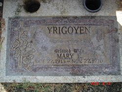 """Maria """"Mary"""" <I>Estrada</I> Yrigoyen"""