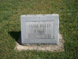 Annie <I>Butts</I> Baker