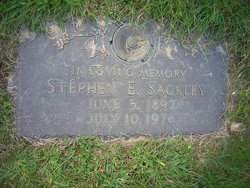 Stephen Ernest Sackley