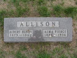 Alma Louise <I>Pierce</I> Allison