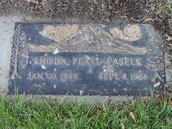 Rhoda Pearl <I>France</I> Paselk