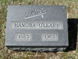 Hanora <I>Shea</I> O'Leary