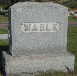 Alice M <I>Hay</I> Wable
