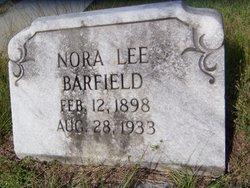 Nora Lee Barfield