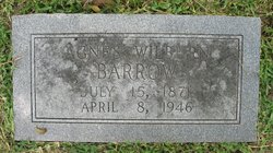Agnes Ann <I>Wilburn</I> Barrow