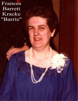 """Frances Barrett """"Barrie"""" Kracke"""