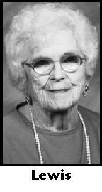 Dorothy Pearl <I>Witwer</I> Lewis