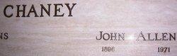 John Allen Chaney