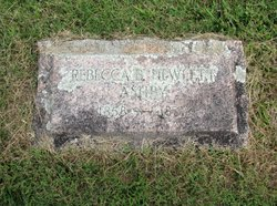 Rebecca <I>Hewlett</I> Ashby