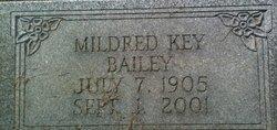Mildred <I>Key</I> Bailey