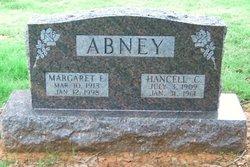 "Hancell Conville ""Hank"" Abney"