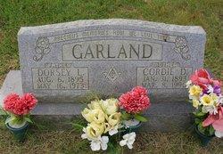 Dorsey L Garland