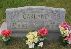 Cordie D <I>Sills</I> Garland