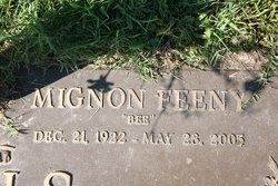 """Mignon """"Bee"""" <I>Feeney</I> Boals"""
