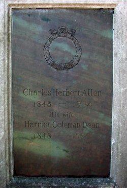 Harriet Coleman <I>Dean</I> Allen