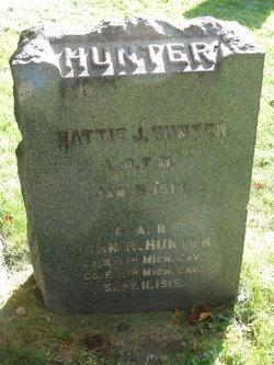 Hattie J <I>Comerford</I> Hunter