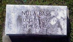 Nola E. <I>Fulford</I> Bass