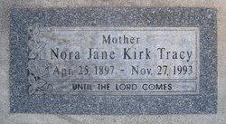Nora Jane <I>Kirk</I> Tracy