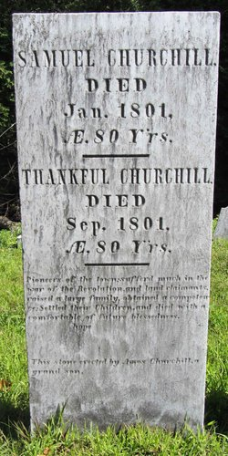 Thankful <I>Hewitt</I> Churchill