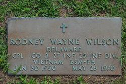 Corp Rodney Wayne Wilson