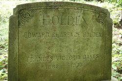 Frances Victoria <I>Oakes</I> Holden
